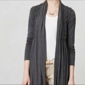 Bailey 44 | Gray Soft Long Sleeve Cardigan